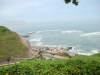 Blick auf den Pazifik und die Rosa Nautica